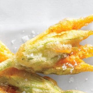 Crispy Fried Zuchini Blossoms