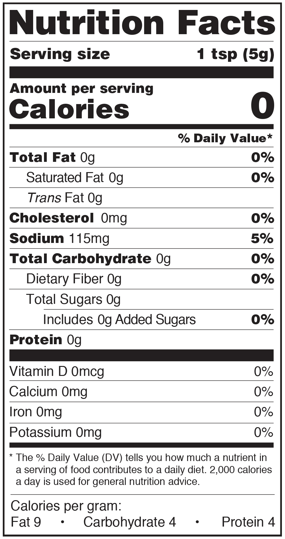 Paesana Condiments Nutrition Facts Label Imported Capers