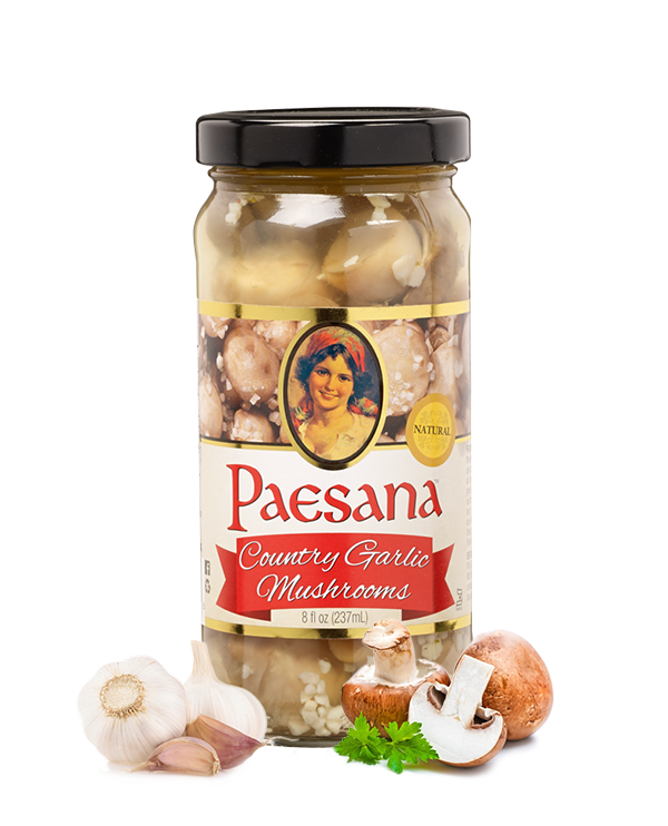 Paesana 8oz Country Garlic Mushrooms