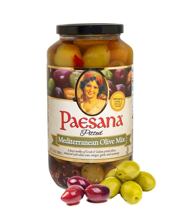 Paesana Mediterranean Olive Mix Jar