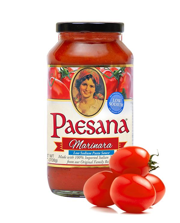 Paesana Marinara Low Sodium Pasta Sauce