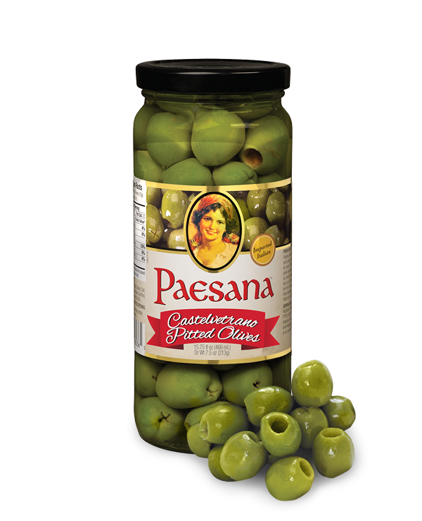 Paesana Castelvetrano Pitted Olives