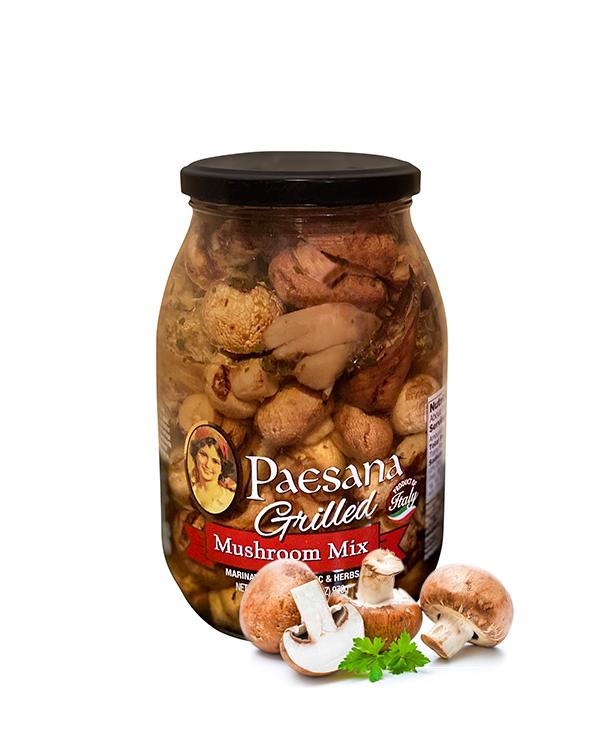 Paesana grilled mushroom mix