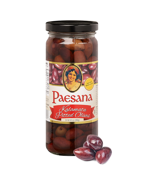 Paesana Kalamata Pitted Olives