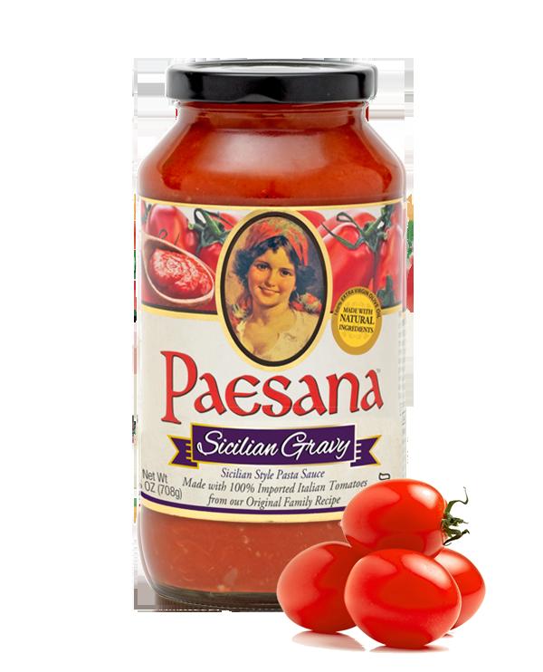 Paesana Sicilian Gravy Pasta Sauce