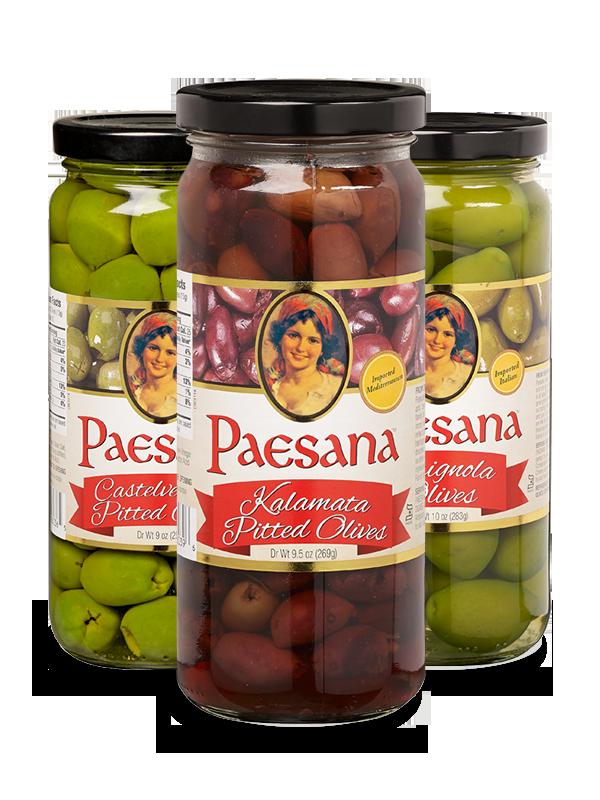 Paesana olives