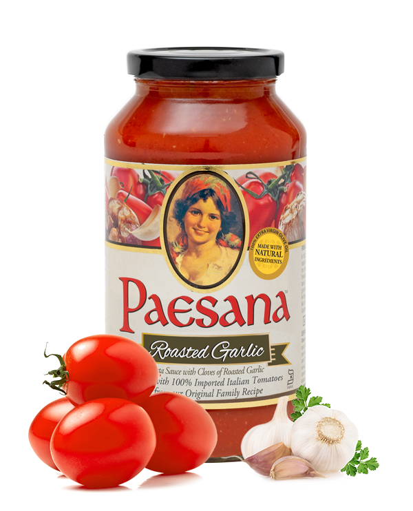 Paesana Roasted Garlic Pasta Sauce