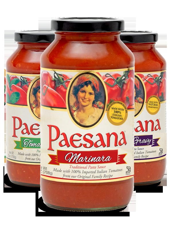 Paesana pasta sauces