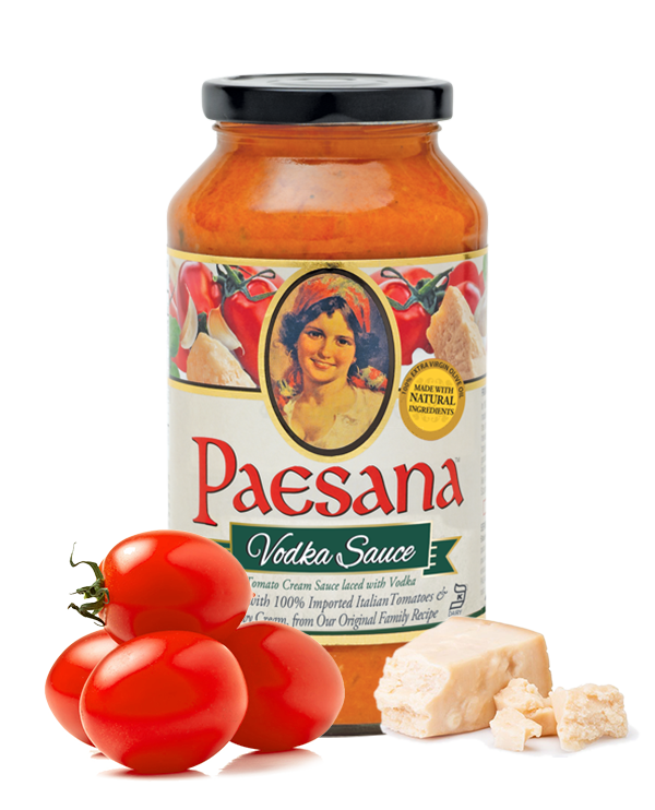 Jar of Paesana Vodka Sauce