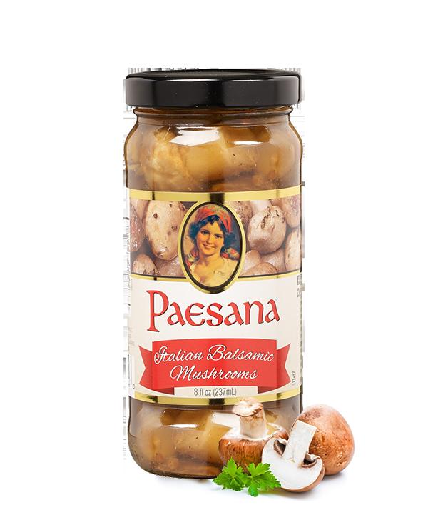 Paesana 8oz Italian Balsamic Mushrooms