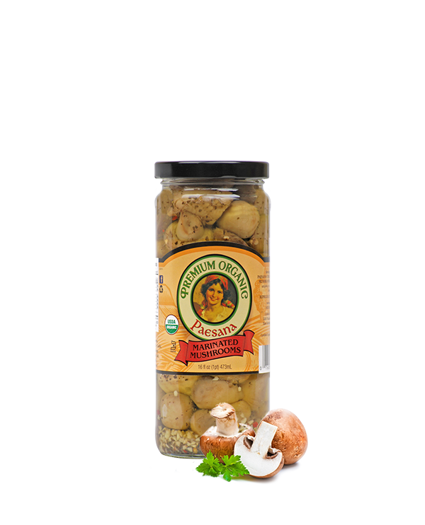 Paesana Organic Marinated Mushrooms