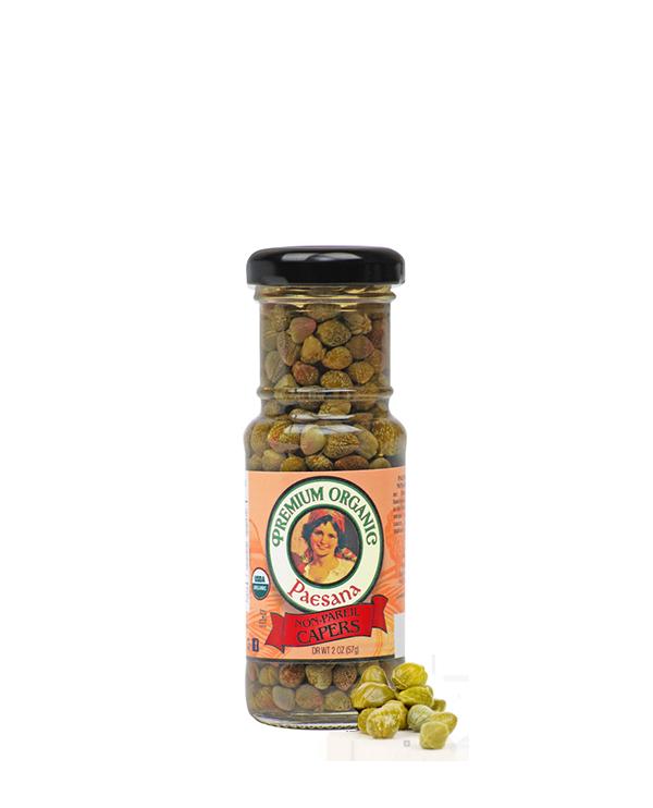 Paesana Organic Non-Pareil Capers