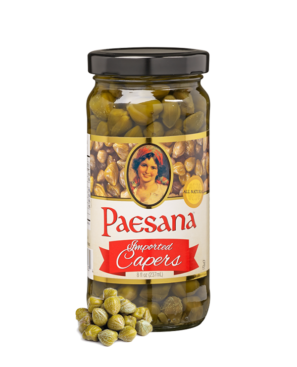 Paesana 8 oz. Imported Capers