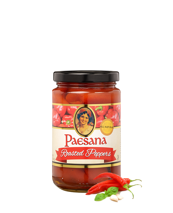 Paesana Fire Roasted Peppers 12oz