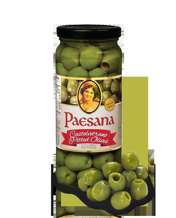 paesana Castelvetrano pitted olives
