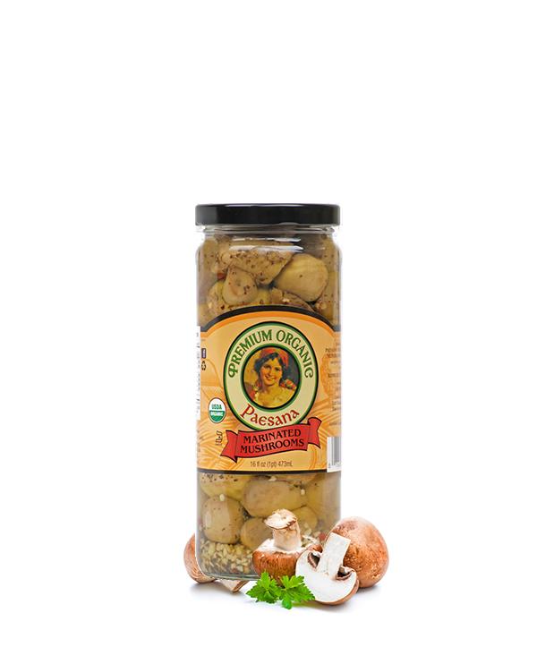 Paesana Organic Marinated Mushrooms
