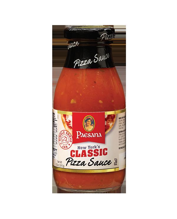 paesana classic sauce pizza