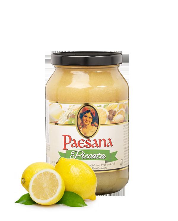 paesana piccata sauce in jar