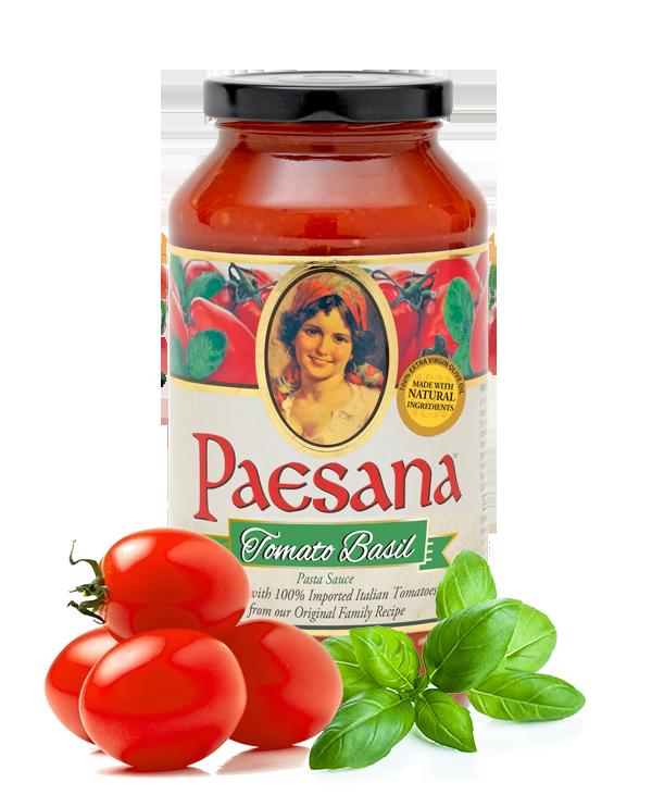 Paesana Tomato Basil Sauce Jar