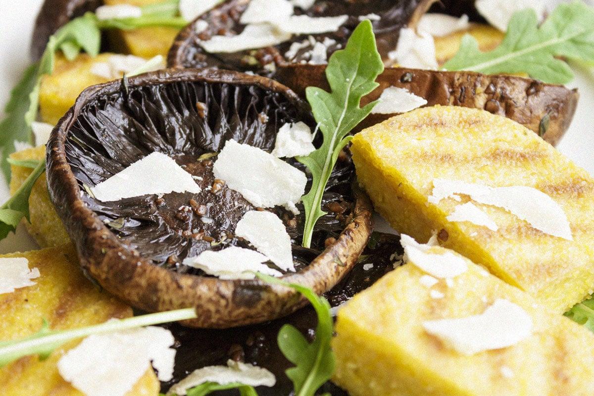 Polenta & Portobello Mushrooms