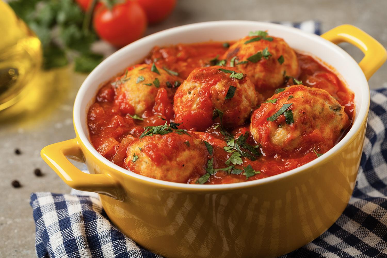 Turkey and Chicken Meatballs