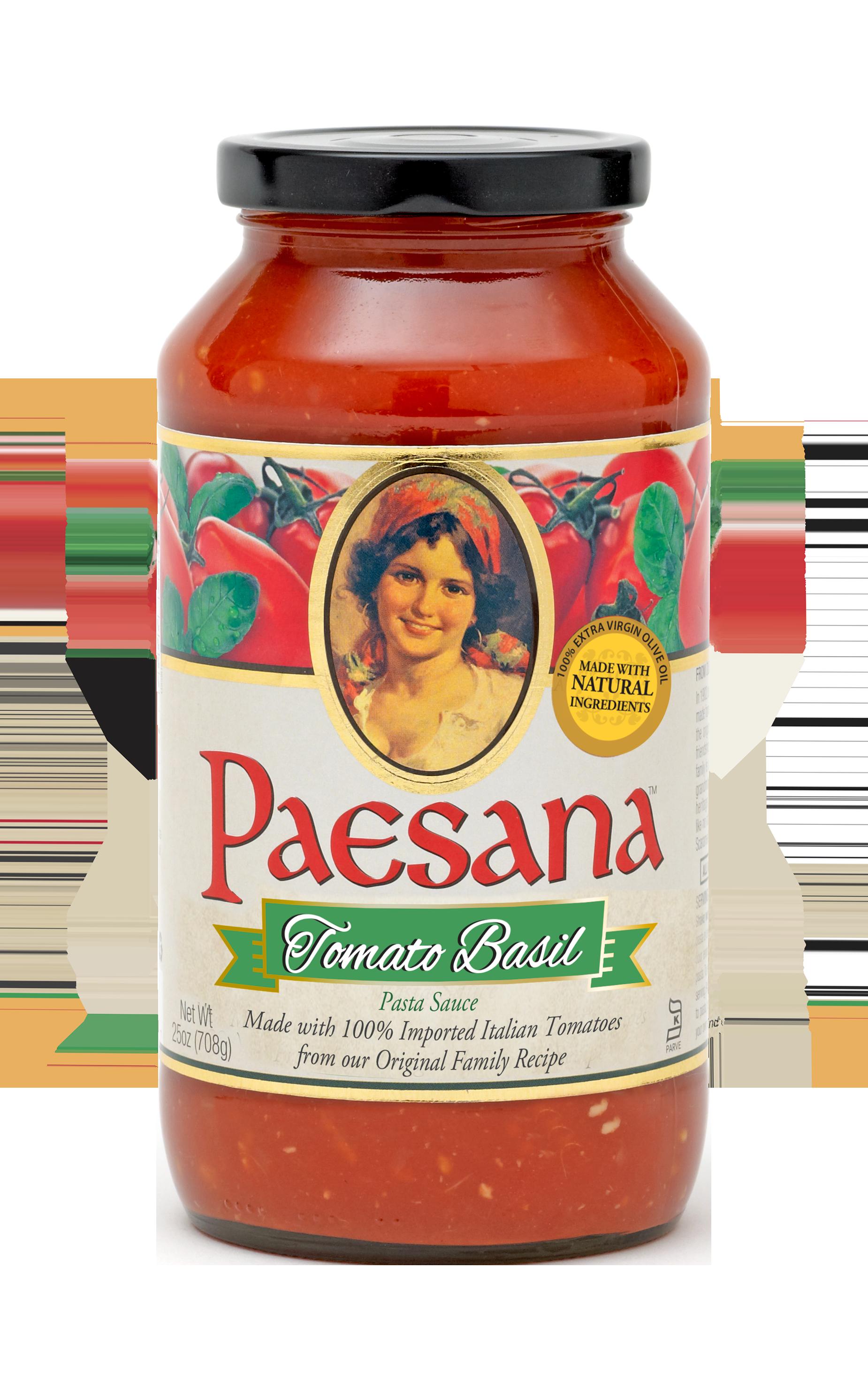 Paesana Tomato Basil Sauce